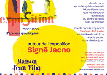 Exposition-restitution : Signé Jacno
