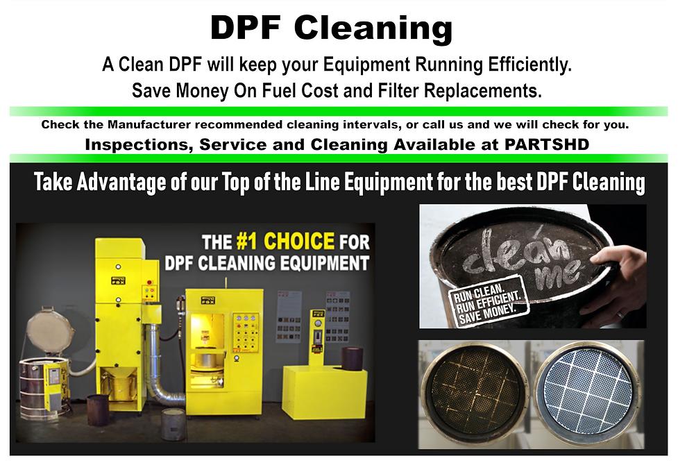 DPF Parts HD Truck Parts Fleet