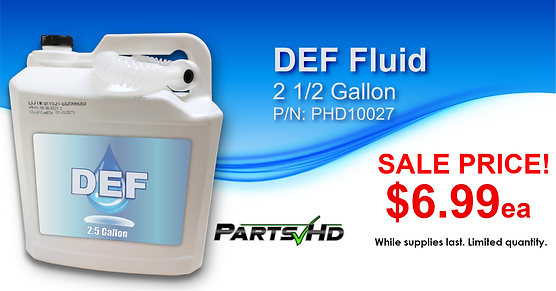 DEF fluid sale