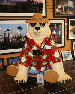 """""""Samson the Travel Bear"""""""