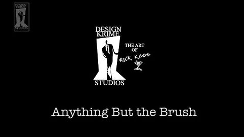 """""""Anything But the Brush - Painting with Rick Kess"""" Part 1 of 2 from Tuesday, October 27, 2020"""