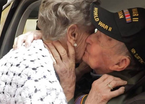 97-Year-Old D-Day Vet Reunites with Lost Love After 75 Years