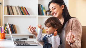 How to Video Chat with a Young Child