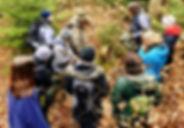 Mensch in Auswilderung, Waldläufer Wildnisschule, Ausbildung, Weiterbildung, Wildnispädagogik, Naturpädagogik, Survival, Bushcraft, coyote teaching, Gemeinschaft