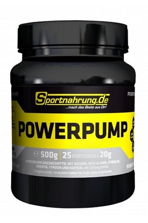 Sportnahrung Powerpump