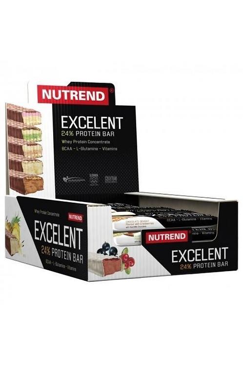 Nutrend Excelent 24% Protein Bar 18x85g