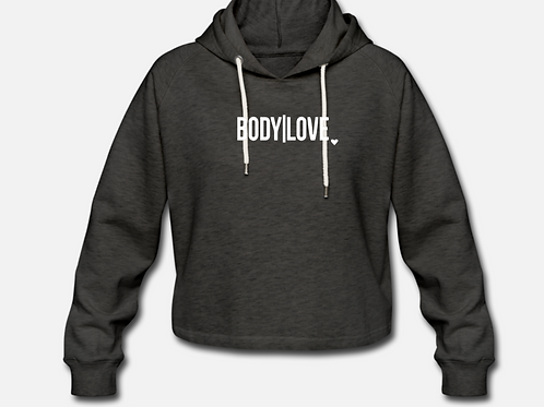 Cropped Hoodie Gym Angel - BODY|LOVE