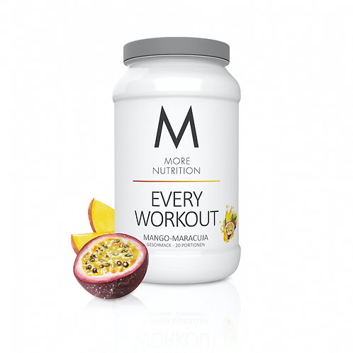 MORE NUTRITION - EVERY WORKOUT