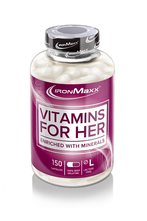 IronMaxx Vitamins for her