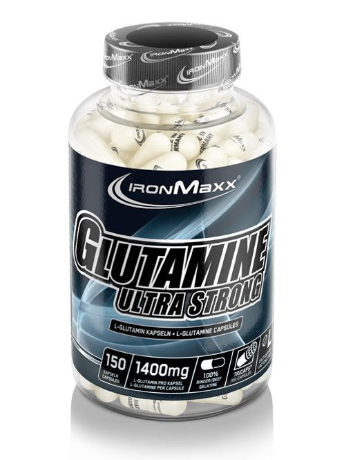 IronMaxx GLUTAMINE ULTRA STRONG (150 TRICAPS®