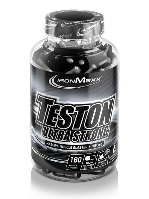 IronMaxx TESTON ULTRA STRONG (180 TRICAPS®)