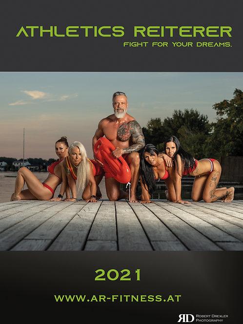 AR FITNESS WANDKALENDER 2021