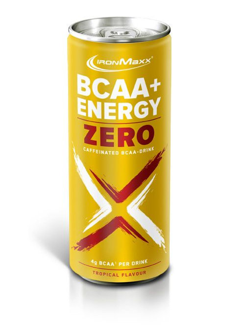 IronMaxx BCAA + ENERGY DRINK ZERO