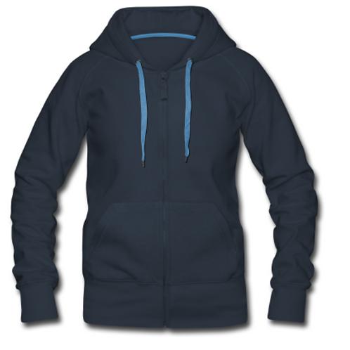 Női prémium kapucnis kabát