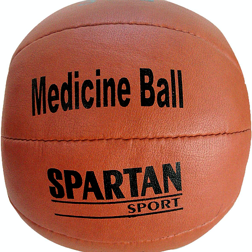Medizinball Leder