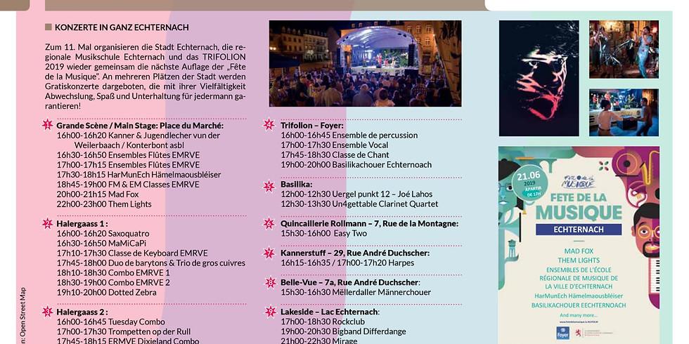 Fête de la musique Echternach