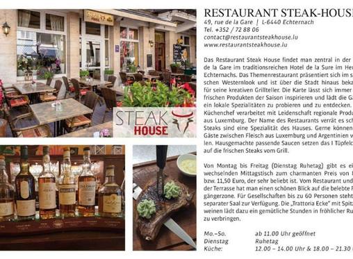 Restaurant Steakhouse invites you!