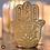 Thumbnail: Mano de Fatima Candle Holder