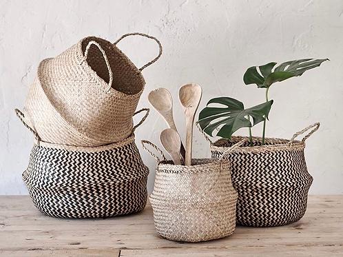 Folding round Basket