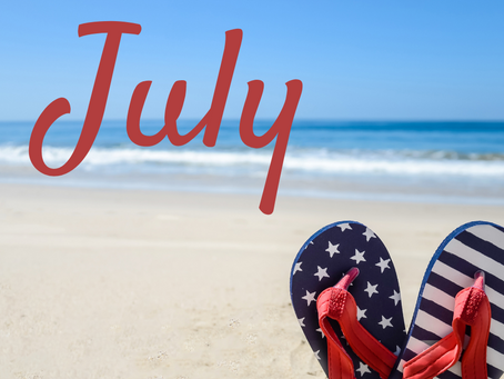 Let Freedom Ring in July!!!