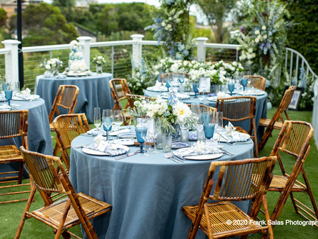 A Timeless, Coastal Chic Wedding