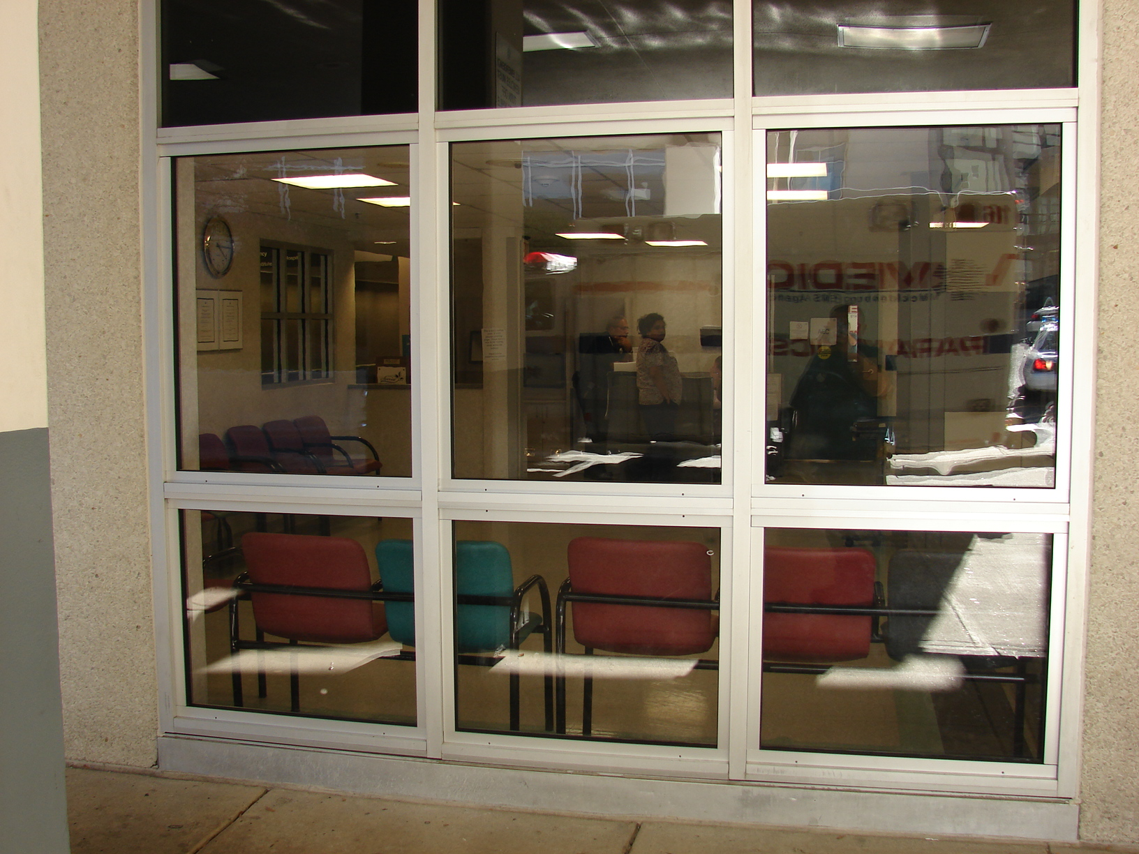 Emergency Room Lobby Windows