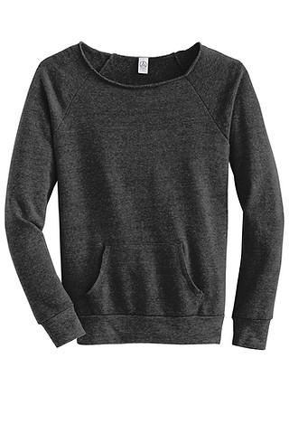 34-Women's Maniac Eco Fleece Sweatshirt