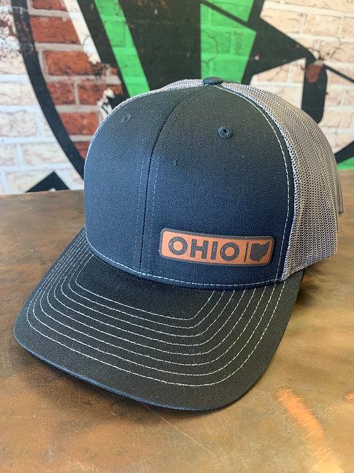 Ohio - Leather Patch Trucker