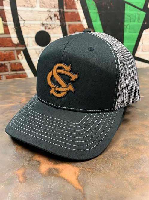 Switzerland County - Leather Patch Trucker