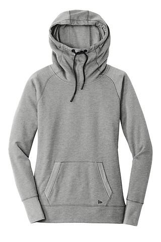 46-Ladies Tri-Blend Fleece Hoodie
