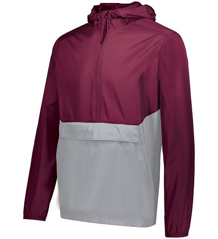 Maroon/Athletic Grey