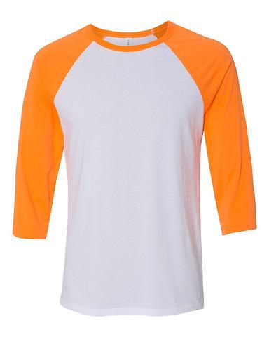 White/Neon Orange