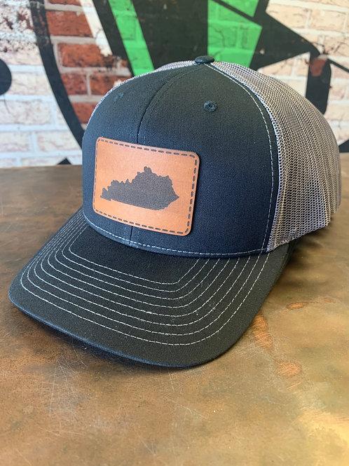 Kentucky - Leather Patch Trucker