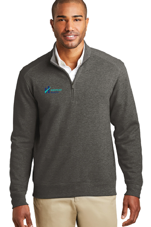 K807 Port Authority Interlock 1/4-Zip