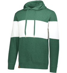Dark Green Heather/White
