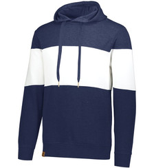 Navy Heather/White