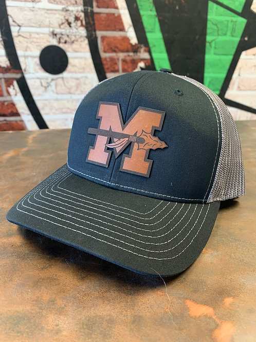 Milan - Leather Patch Trucker