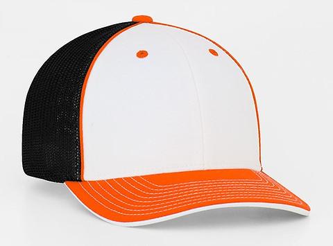 White/Orange/Black