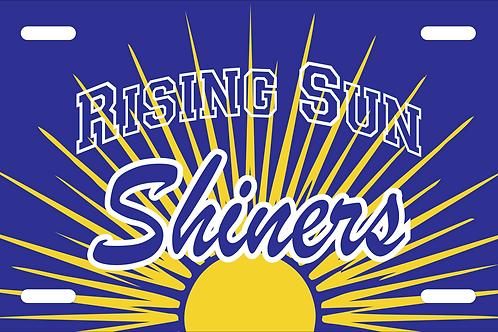 Rising Sun License Plate