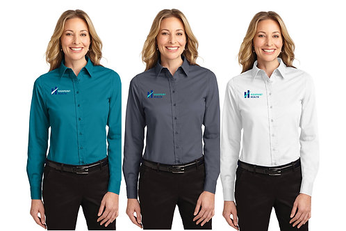 L608 Port Authority® Ladies Long Sleeve Easy Care