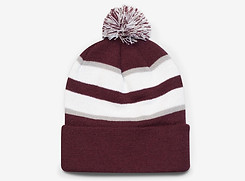 Maroon/White/Silver