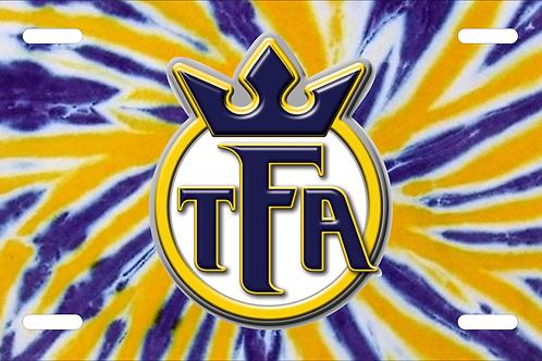 TFA License Plate