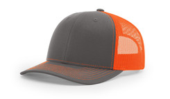 Charcoal/Neon Orange