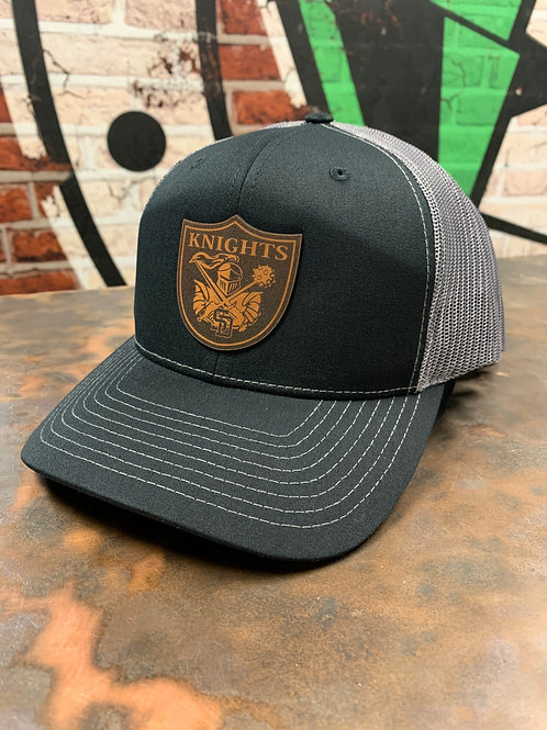 South Dearborn - Leather Patch Trucker