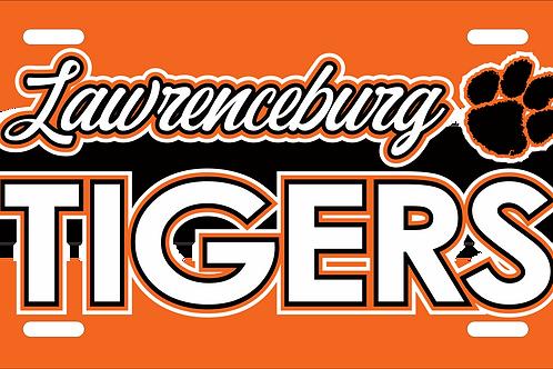 Lawrenceburg License Plate