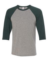Grey/Emerald Tri-blend
