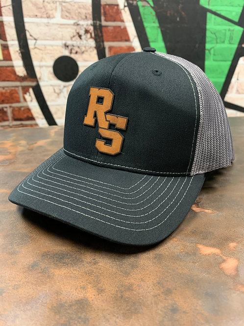 Rising Sun - Leather Patch Trucker