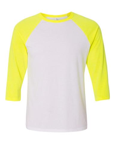 White/Neon Yellow
