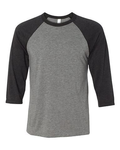 Grey/Charcoal Black Triblend