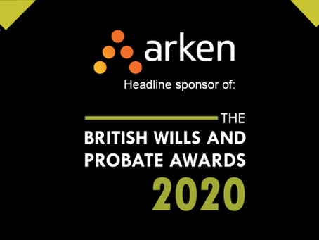 The British Wills and Probate Awards 2020 event held virtually